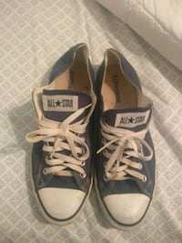 Blue Converse All Star low-top sneakers size 11 Nolanville, 76559