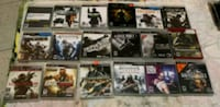 assorted Sony PS3 game case lot Brooklyn, 11237