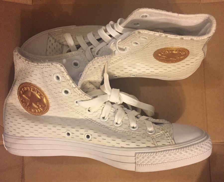 Used Converse Chuck Taylor All Star CT WhiteGold Hi Top for sale in Los Angeles letgo