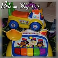 baby's multi-colored ride-on toy Lake Wales, 33859