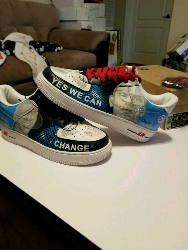 Obama Shoes 1 Nike Air Force 10 Size New shQrxtCd