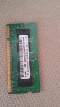 DDR 2 1 gb laptop ram