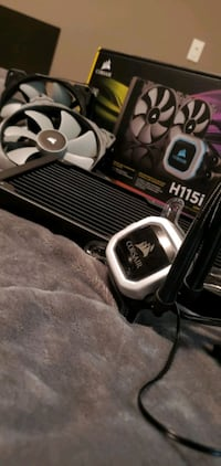 Corsair CPU Cooler -  Hydro Series H115i Pro RGB.
