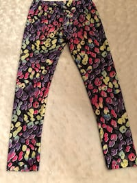 Children's Place Girls Size M 7/8 Rainbow Leopard Craigsville, 26205