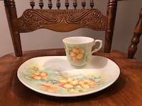 Hand Painted Cup & Saucer Toronto, M4S 2N1