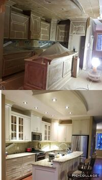 Kitchen Cabinet Refinishing Calgary