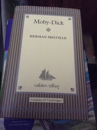 Collectible hardcover : Moby Dick - Sherman Melville (pocket book size)