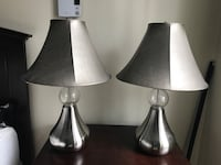 A Pair of Night Table Lamps
