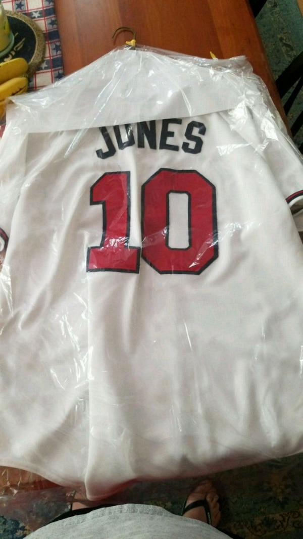 quality design 623d6 e1ab8 Chipper jones jersey