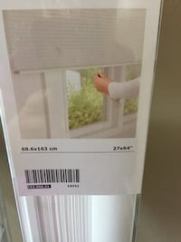 Brand new IKEA blind 27x64 white , reg price $34.99 willing to sell for $25.00 need gone asap moving Porcupine Plain, S0E