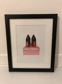Small Jimmy Choo Fashion Art Toronto, M2J
