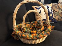 Fall decorative baskets. College Station, 77845
