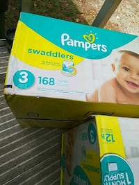 4 boxes of 168 Sz3 diapers Salisbury, 28147