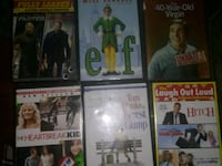 6 Basicly Brand New Movies 15 or best offer Woonsocket, 02895