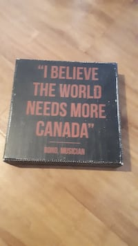 Canada proud wall decor null