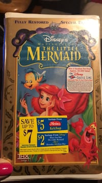 Little mermaid vhs sealed