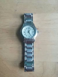 silver and white-faced analog watch Peterborough, K9H 1V7