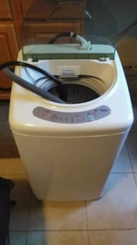 Haier compact portable washer.