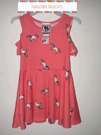 red and white floral sleeveless dress Garland, 75040