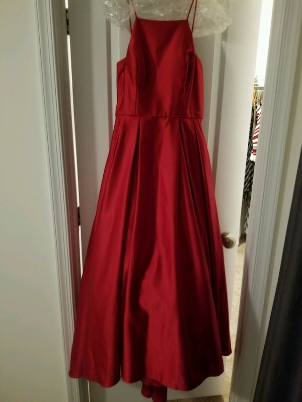 High Neck Satin Ball Gown  1933aaca-6ac8-4bdf-a70b-e4beccc047d1