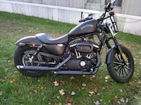 black and gray cruiser motorcycle Allegan, 49010