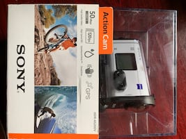 Sony - HD Action Camcorder - White