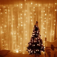 Christmas Curtain String Light for home party wedding decoration