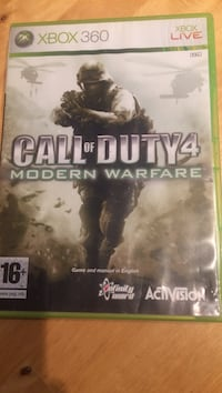 Call of Duty 4 Xbox 360 spill tilfelle
