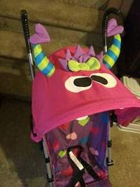 Girl's monster stroller