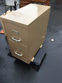 brown wooden 2-drawer filing cabinet Manchester, 08759