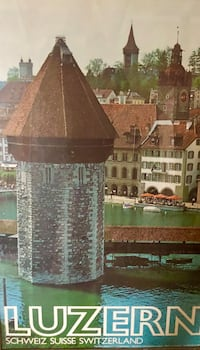Large Collectible Switzerland Poster Twinsburg, 44087