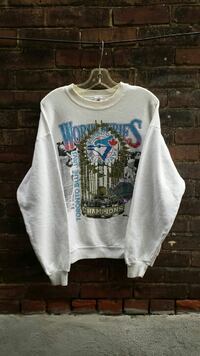 1992 World Series Champs Blue Jays Crew Neck
