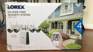 Brand New Lorex HD Wire-free Security System