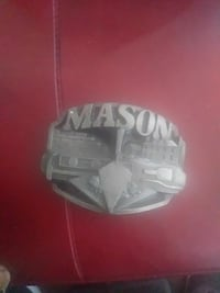 grey Mason belt buckle Victorville, 92392