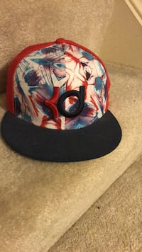 red /blue and rainbow explosion snapback hat Germantown, 20874
