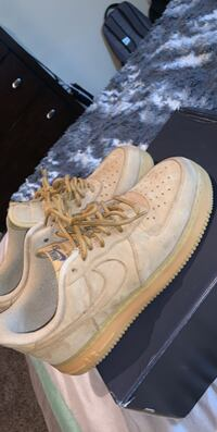air force 1 wheat low top
