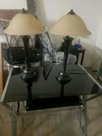 two black-and-white table lamps Surprise, 85388