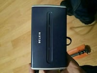 black and gray Linksys modem router Sterling Heights