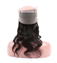Brand-new! Brazilian Body Wave 360 Lace Frontal Human Hair 14 inches null