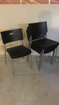 two black wooden side tables St. Albert, T8N 3L6