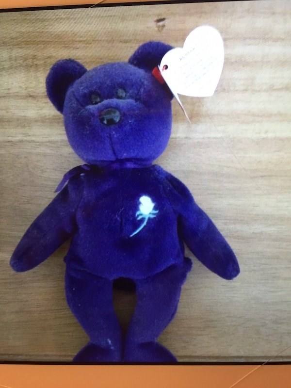 Used Princess diana ty beanie baby for sale in Kannapolis - letgo 5b6ee5f2cd9