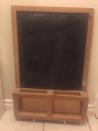 Black and brown wooden memo board will mail collectors Brampton, L6V 3M6