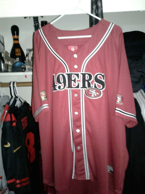 sale retailer 5bf92 2aab7 49er baseball-style button-up Jersey