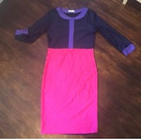 Ladies Color block bodycon dress  Washington, 20018