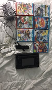 Black Wii U with 6 games and 2 controllers Germantown, 20874