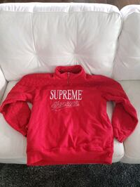 Supreme Forever Half-Zip Sweater West Kelowna, V4T 1R3