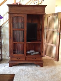 Unique TV or display cabinet - handmade in Mexico