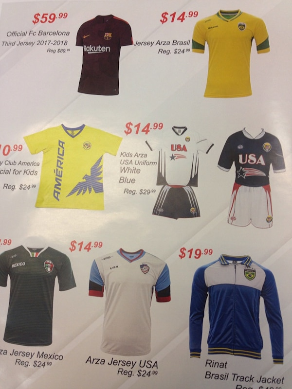 115bcfb0c95 Used Black Friday Sale in Arza Soccer Stores for sale in Paramount - letgo