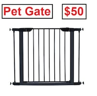 "AJ - BRAND NEW - Midwest 29"" High Graphite Steel Gate Mississauga"