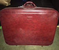 Red Leather Travel Case Ocklawaha, 32179